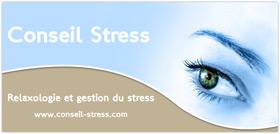 Conseil Stress : relaxologie et gestion du stress